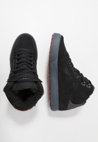 DC Shoes - PURE - Skate shoes - black/grey/red - 1
