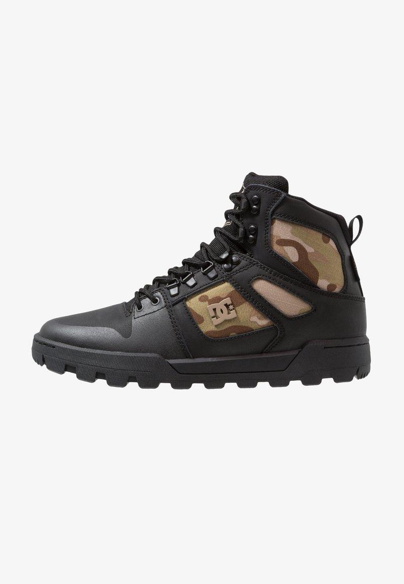 DC Shoes - PURE WR  - Skatesko - black