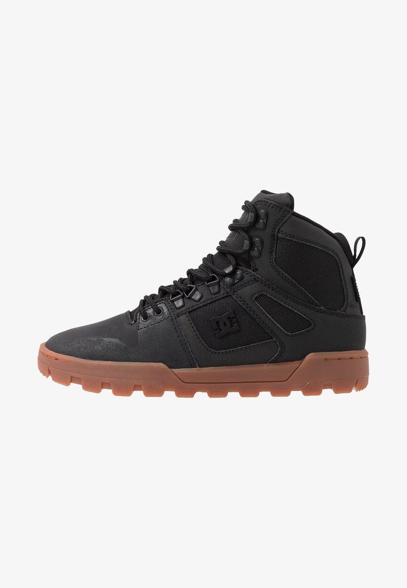 DC Shoes - PURE WR  - Obuwie deskorolkowe - black
