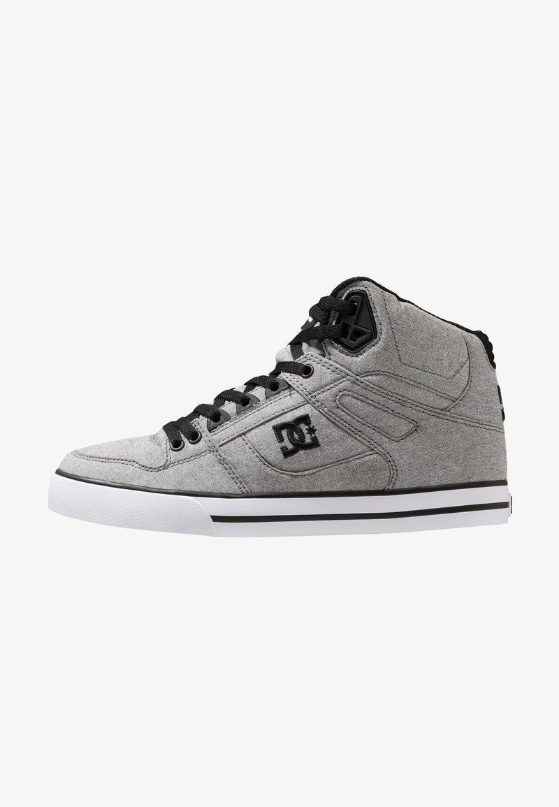 DC Shoes - PURE TOP SE - Skatesko - grey