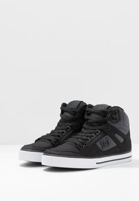 DC Shoes - PURE TOP SE - Skatesko - black/dark used - 2