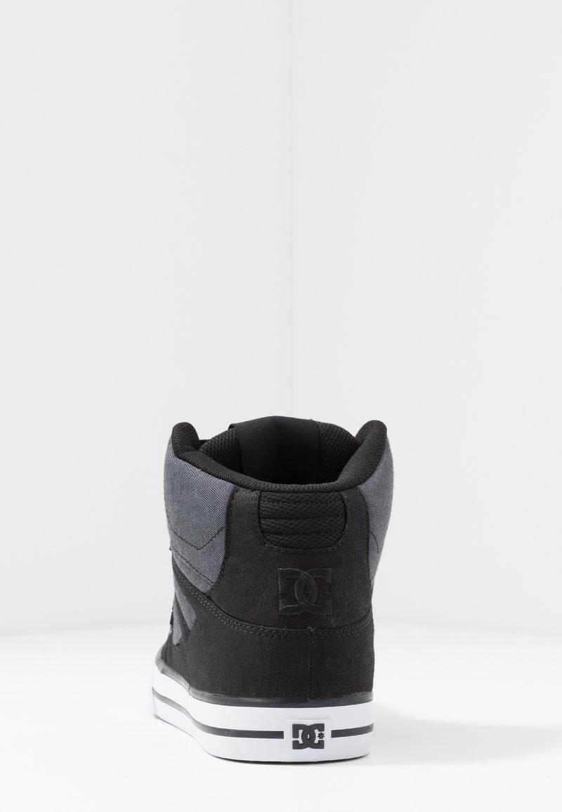 DC Shoes PURE TOP SE - Skatesko - black/dark used