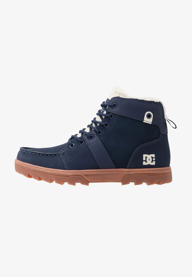 WOODLAND - Zapatillas altas - navy/blue/white