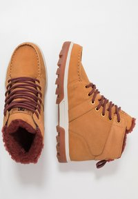 DC Shoes - WOODLAND - Höga sneakers - brown - 1