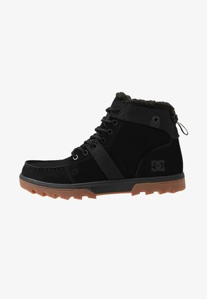 WOODLAND - Sneakers hoog - black