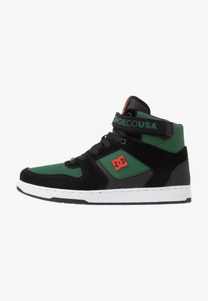 PENSFORD - Zapatillas skate - green/black