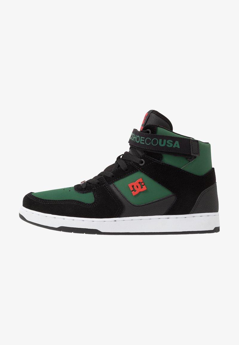 DC Shoes - PENSFORD UNISEX - Zapatillas skate - green/black