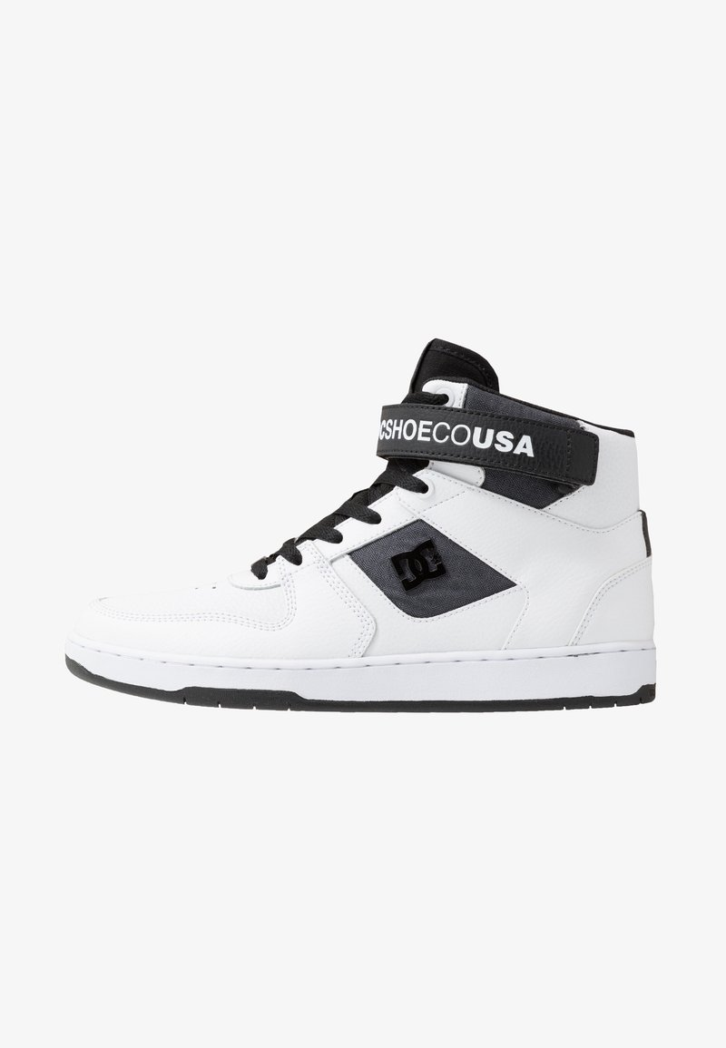 DC Shoes - PENSFORD SE - Obuwie deskorolkowe - white/black