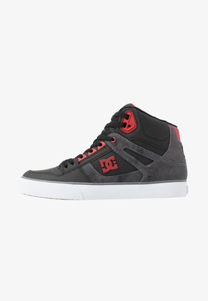 PURE TOP SE  - Chaussures de skate - black/red