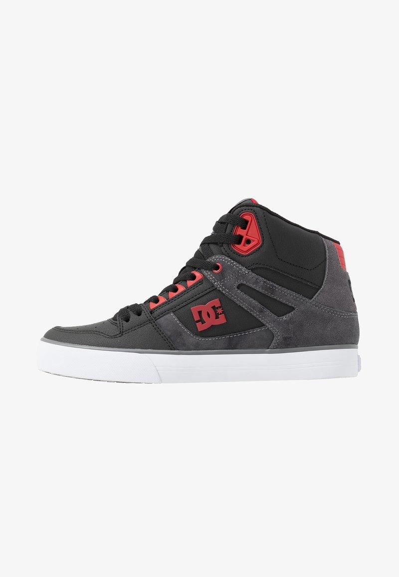 DC Shoes - PURE TOP SE  - Skateschoenen - black/red