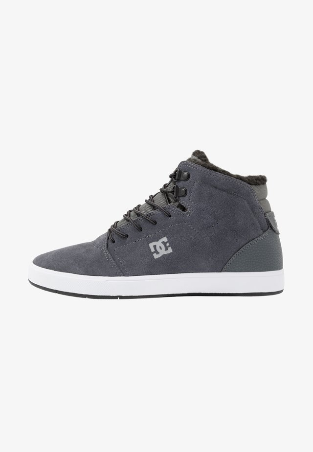 CRISIS HIGH WNT - Korkeavartiset tennarit - charcoal grey