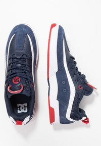 DC Shoes - LEGACY 98 SLIM - Chaussures de skate - navy/red - 1