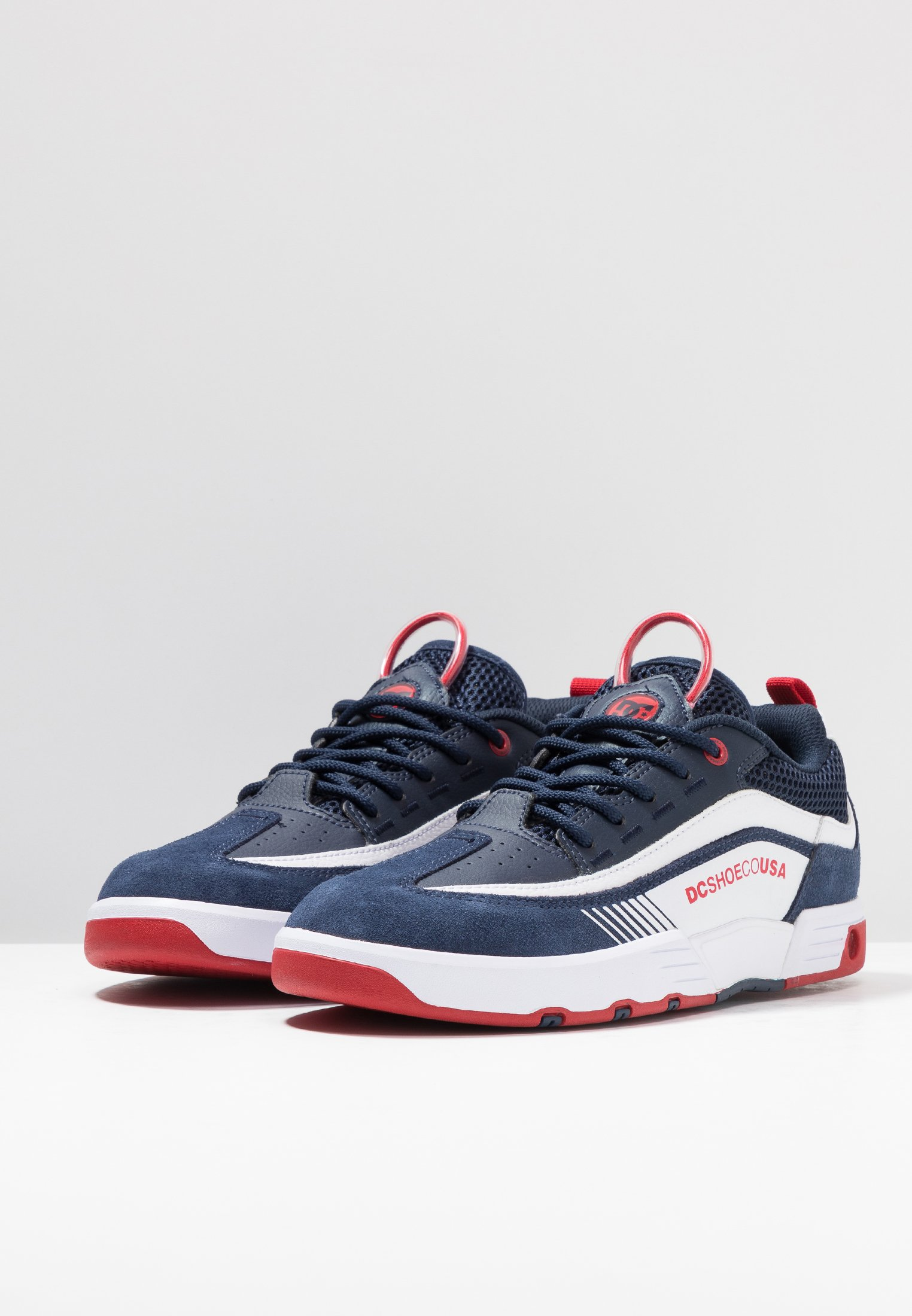 Dc Shoes Legacy 98 Slim - Chaussures De Skate Navy/red