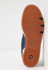 DC Shoes - LEGACY 98 SLIM - Skateboardové boty - navy/orange - 4