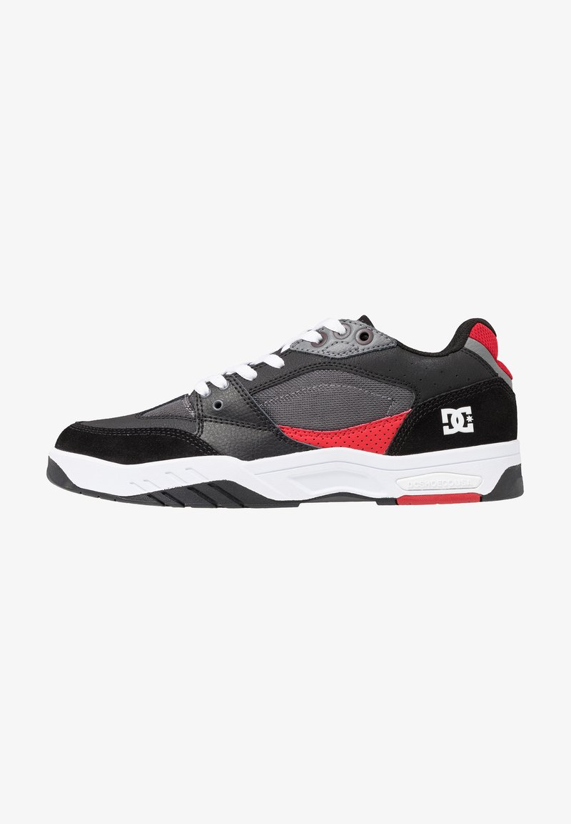 DC Shoes - MASWELL - Skate shoes - white/black/red