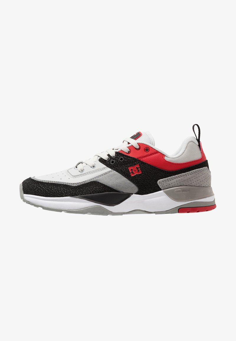 DC Shoes - E.TRIBEKA - Sneaker low - black/athletic red/battleship