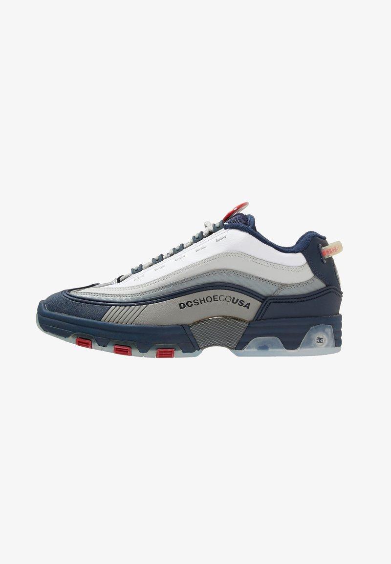 DC Shoes - LEGACY OG - Joggesko - navy/red