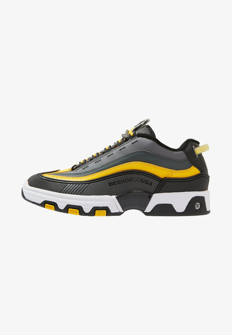 DC Shoes - LEGACY OG - Sneaker low - grey/black/yellow