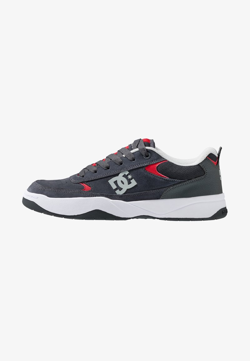 DC Shoes - PENZA - Trainers - grey/red