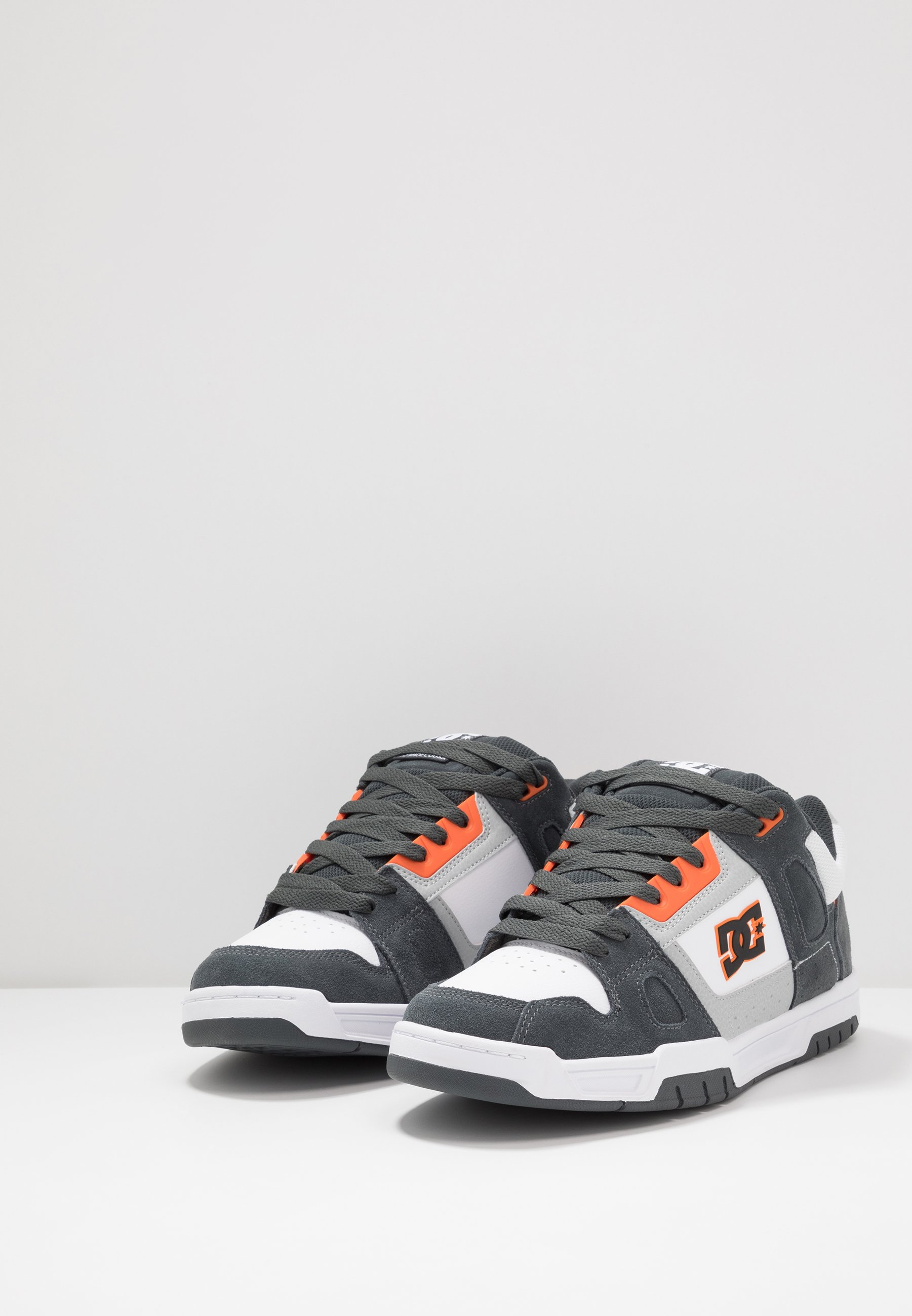 Dc Shoes Stack - Skatesko Grey/orange