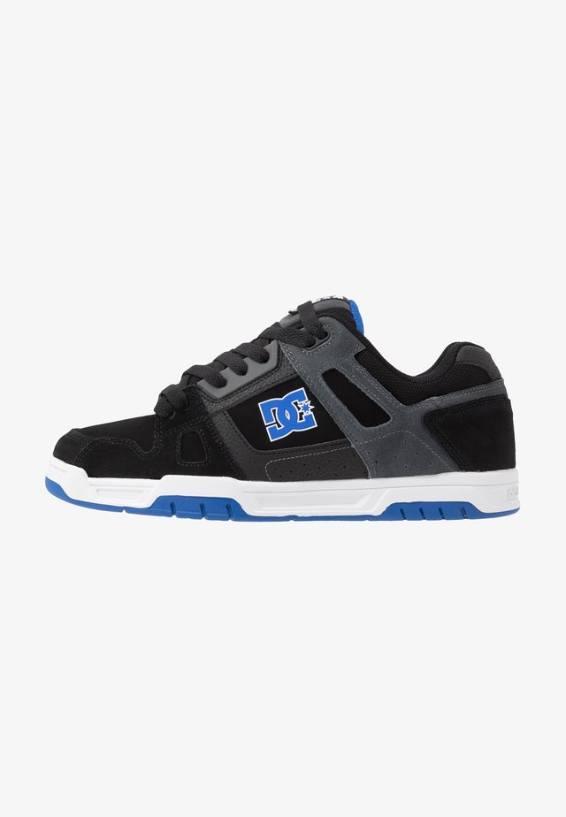 STACK - Zapatillas skate - black/blue