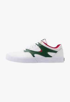 KALIS - Sneakers laag - white/red