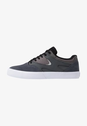 KALIS VULC - Sneaker low - grey/black/red