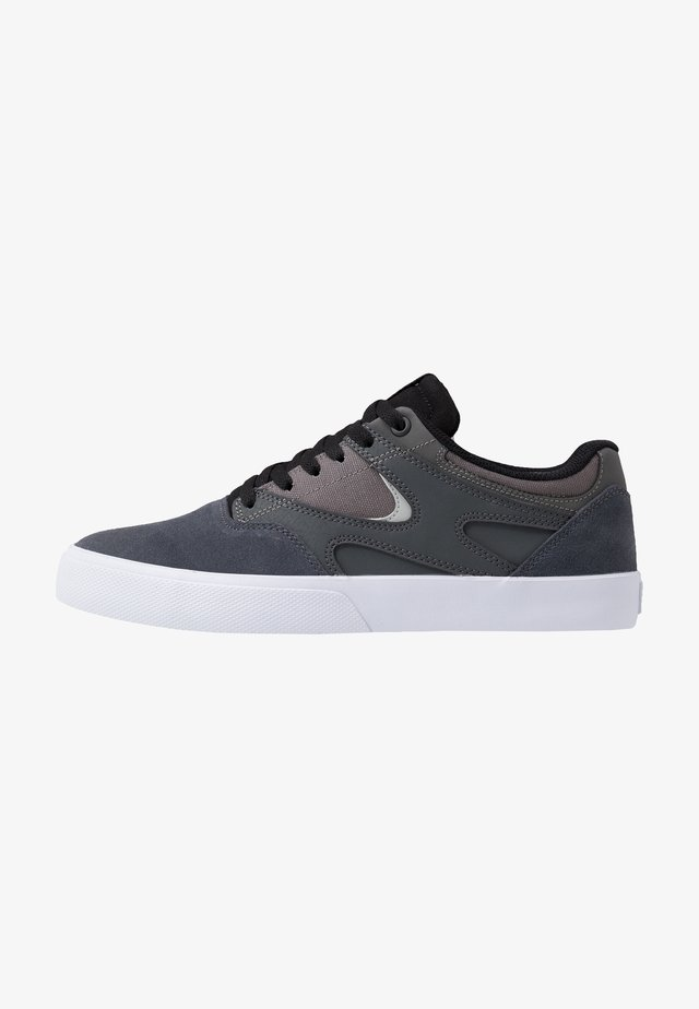 KALIS VULC - Matalavartiset tennarit - grey/black/red