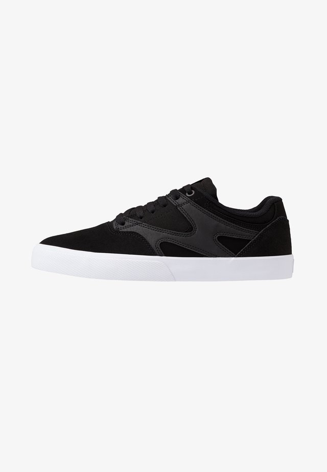 KALIS VULC - Matalavartiset tennarit - black/white