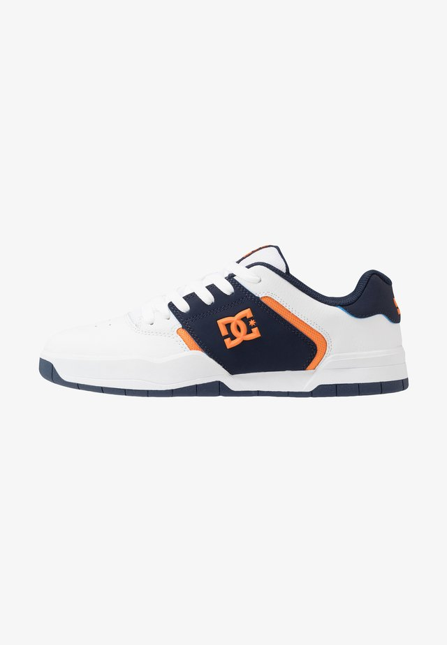 CENTRAL - Skateboardové boty - white/navy