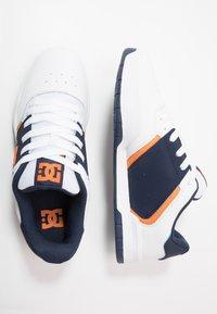 DC Shoes - CENTRAL - Skateschoenen - white/navy - 1