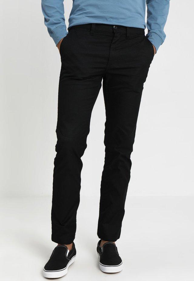 WORKER RELAXED - Chino kalhoty - schwarz