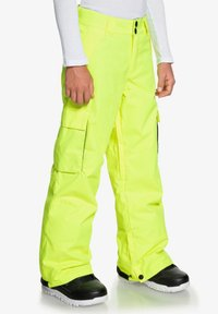 DC Shoes - DC SHOES™ BANSHEE - SCHNEEHOSE FÜR JUNGEN 8-16 EDBTP03011 - Pantalon de ski - safety yellow - 2