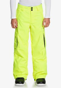 DC Shoes - DC SHOES™ BANSHEE - SCHNEEHOSE FÜR JUNGEN 8-16 EDBTP03011 - Pantalon de ski - safety yellow - 0