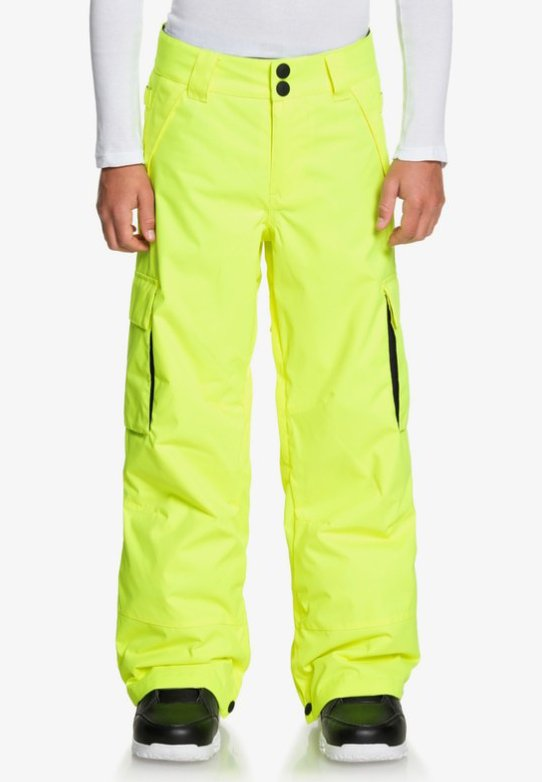DC Shoes - DC SHOES™ BANSHEE - SCHNEEHOSE FÜR JUNGEN 8-16 EDBTP03011 - Pantalon de ski - safety yellow