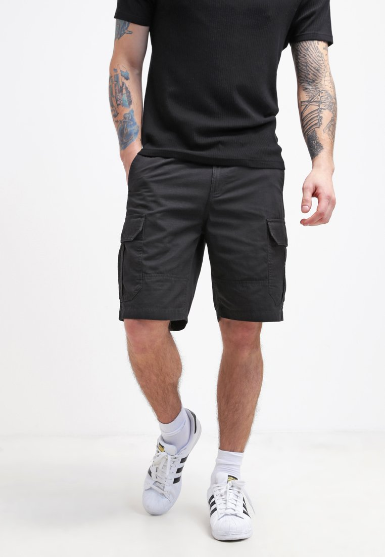 DC Shoes - RIPSTOP CARGO - Shorts - black