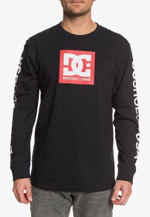 DC SHOES™ SQUARE STAR - LONGSLEEVE FÜR MÄNNER EDYZT04144 - Long sleeved top - black/red p