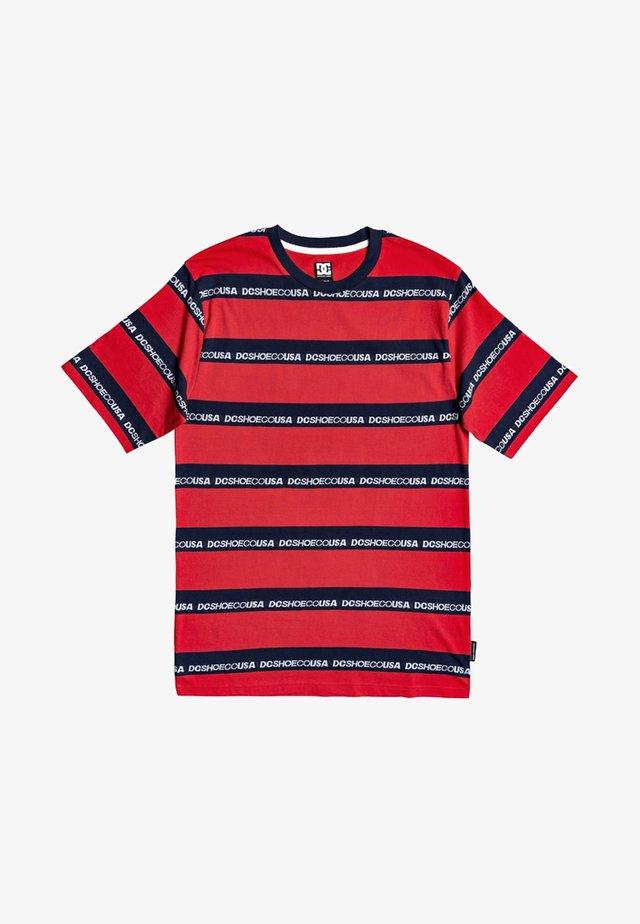 MIDDLEGATE - T-shirt imprimé - racing red