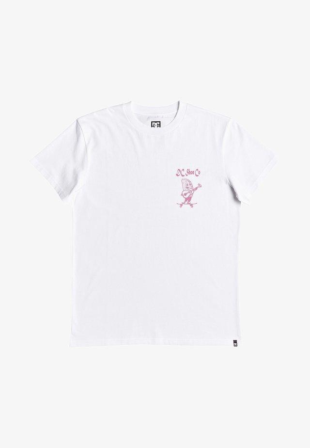 TACO TUESDAY - Print T-shirt - white