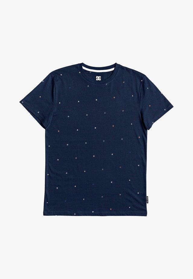 CRESDEE - T-shirt imprimé - black iris