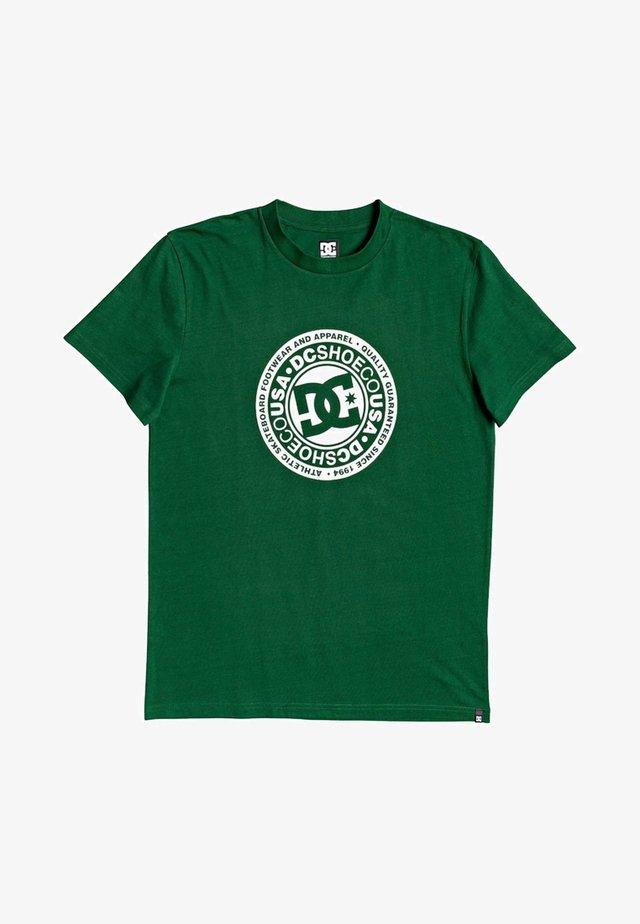 CIRCLE STAR  - T-Shirt print - eden/snow white