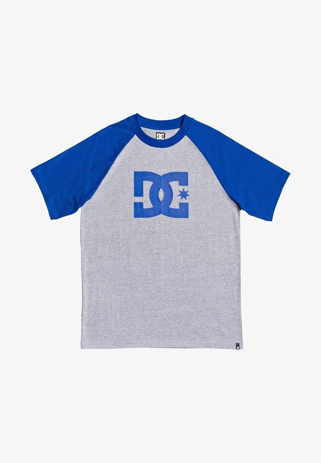 DC SHOES™ STAR - T-SHIRT FÜR MÄNNER EDYZT04107 - Print T-shirt - grey