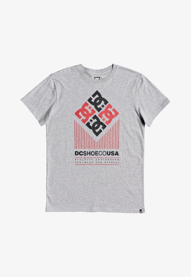 HEXO - T-shirt imprimé - grey heather