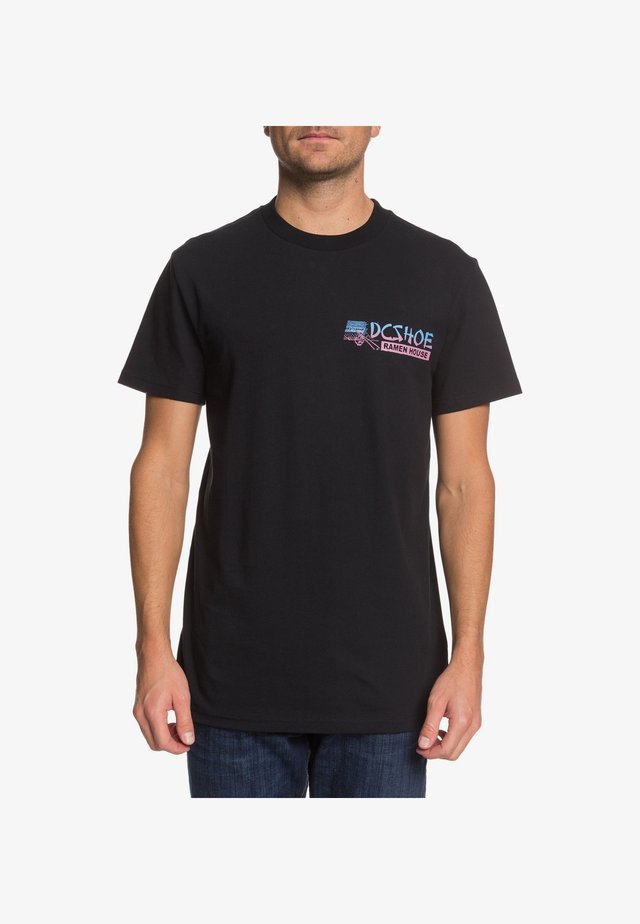 DC SHOES™ 100 PERCENT MSG  - T-SHIRT FÜR MÄNNER EDYZT04103 - T-Shirt print - black