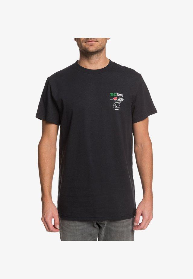 DC SHOES™ WE HOT SINCE 94 - T-SHIRT FÜR MÄNNER EDYZT04116 - T-Shirt print - black