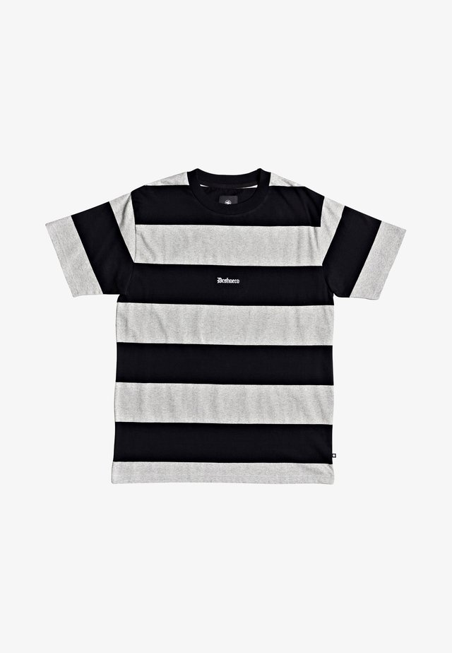 Print T-shirt - heather grey