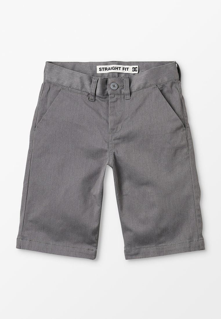 DC Shoes - WORKER STRAIGHT HEATHER - Shorts di jeans - grey heather