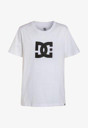 STAR BOY - T-shirt imprimé - snow white