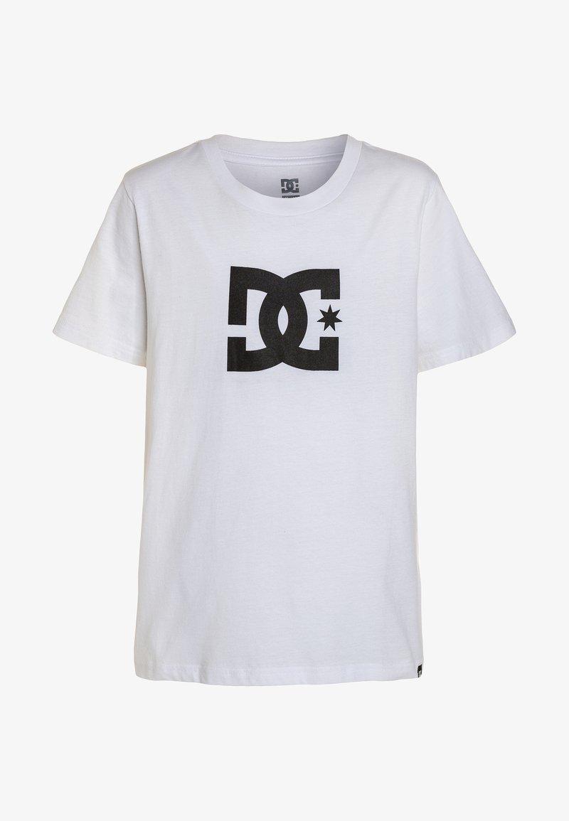 DC Shoes - STAR BOY - Print T-shirt - snow white