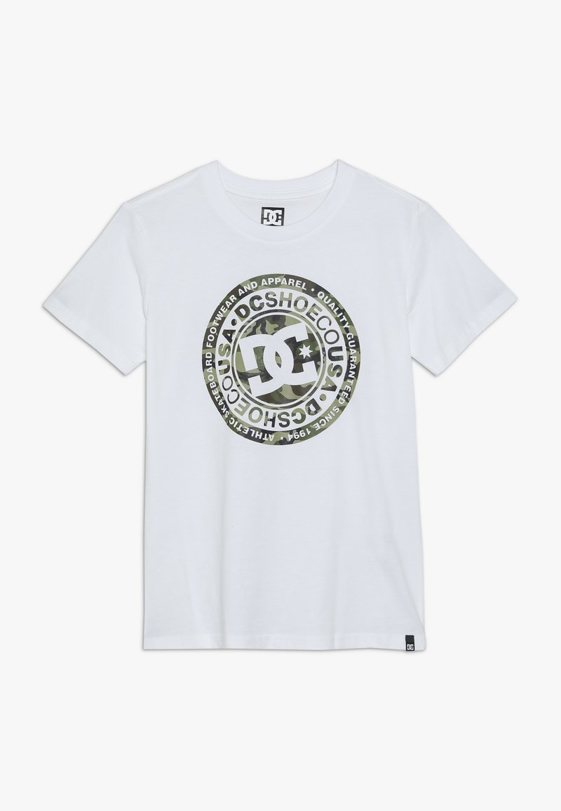 DC Shoes - CIRCLE STAR BOY - T-shirt con stampa - white/khaki